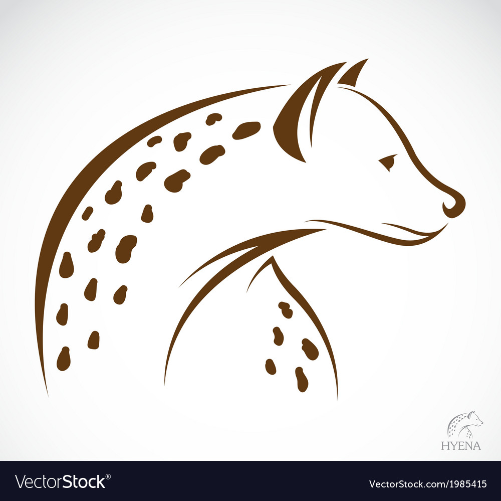 Image of an hyena vector | Price: 1 Credit (USD $1)