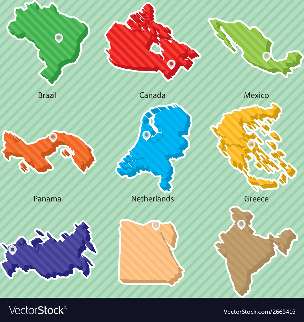 Maps 002 vector | Price: 1 Credit (USD $1)