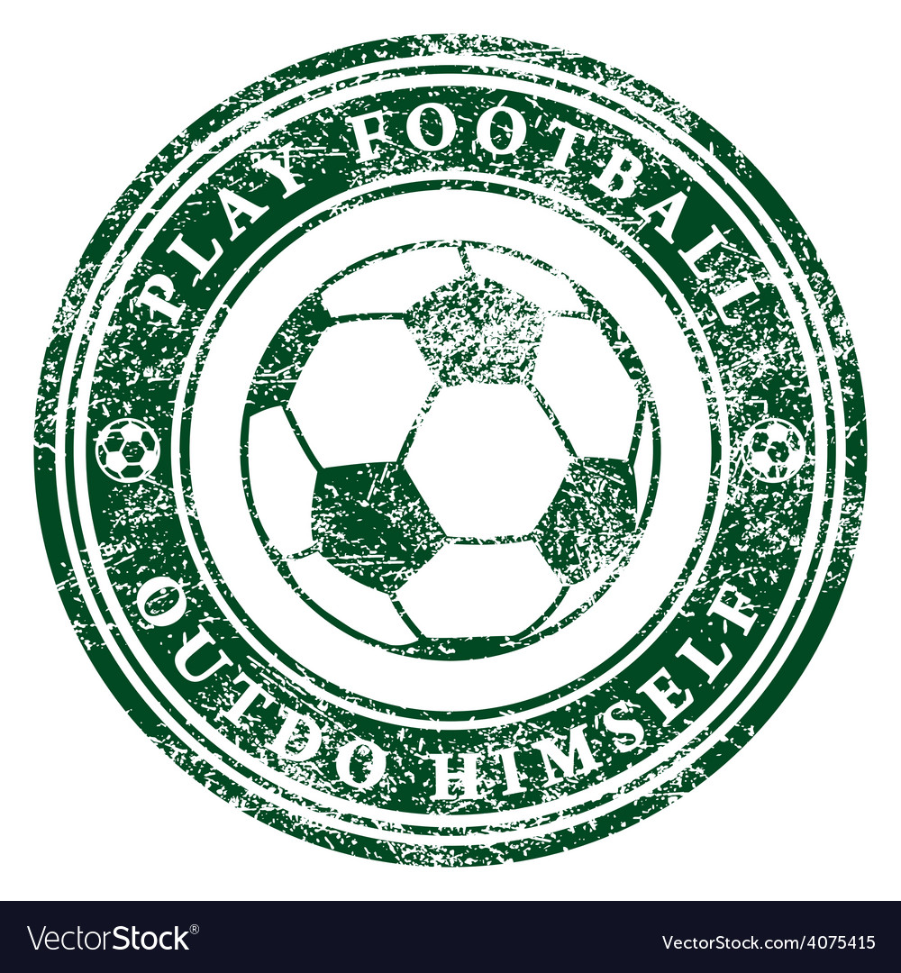 Play football vector | Price: 1 Credit (USD $1)