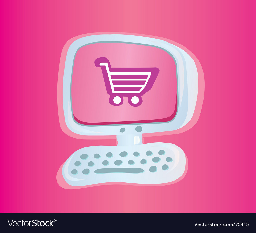 Shopping online vector | Price: 1 Credit (USD $1)