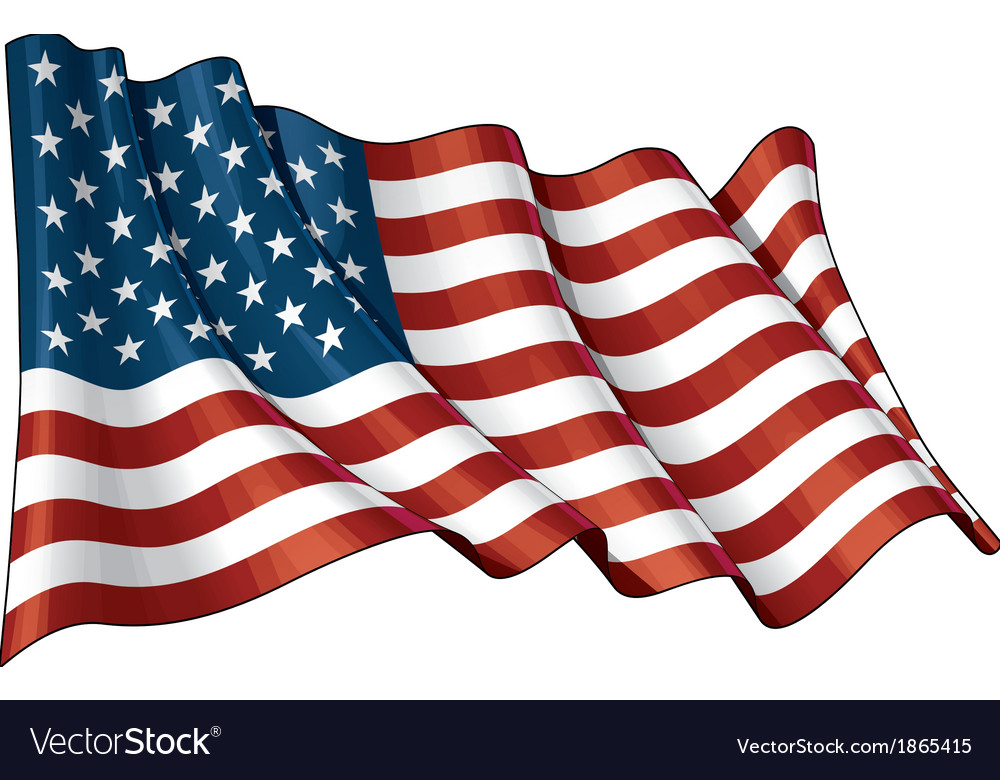 Usa flag grunge vector | Price: 1 Credit (USD $1)