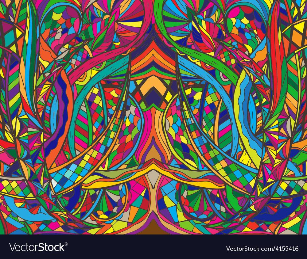 Spiral decorative doodles vector | Price: 1 Credit (USD $1)