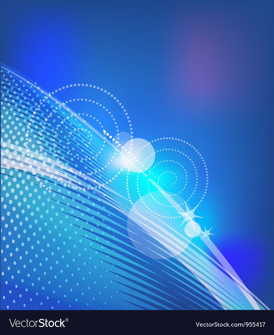 Abstract background with blue lines vector | Price: 1 Credit (USD $1)