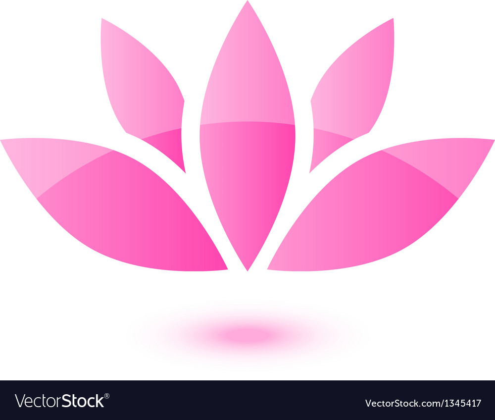 Lotus icon vector | Price: 1 Credit (USD $1)