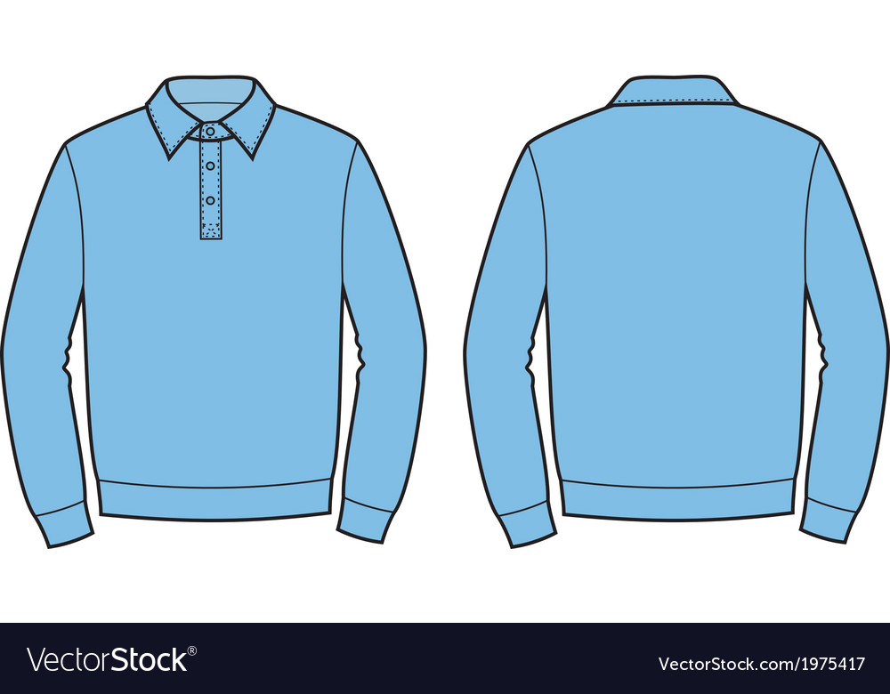Polo jumper vector | Price: 1 Credit (USD $1)