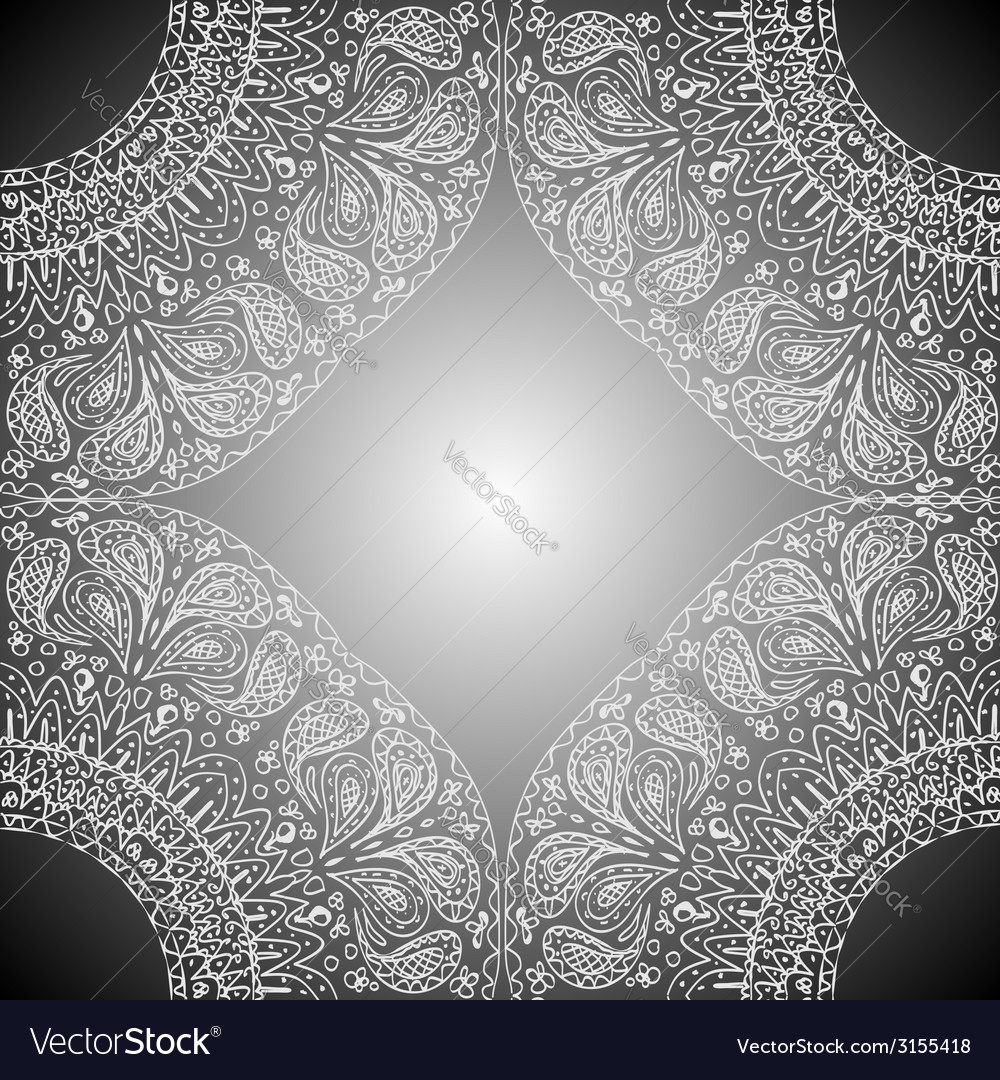 Four of the mandala parts at the corners with vector | Price: 1 Credit (USD $1)
