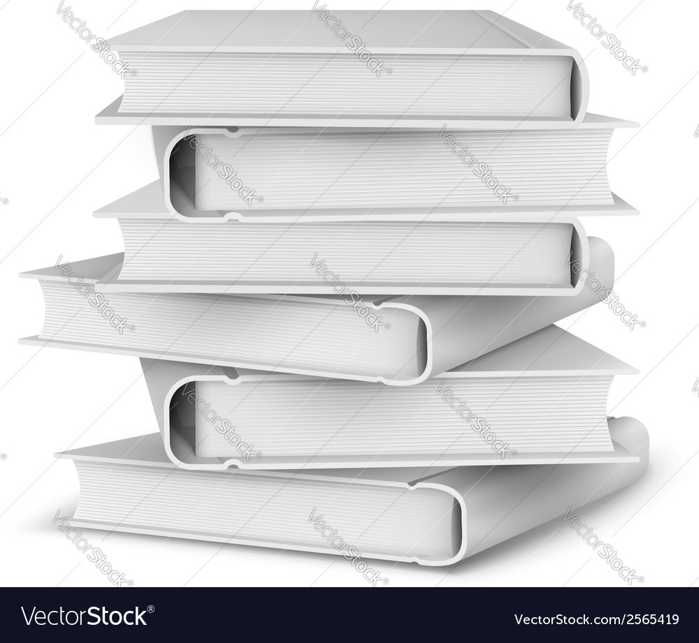Big pile of books vector | Price: 1 Credit (USD $1)