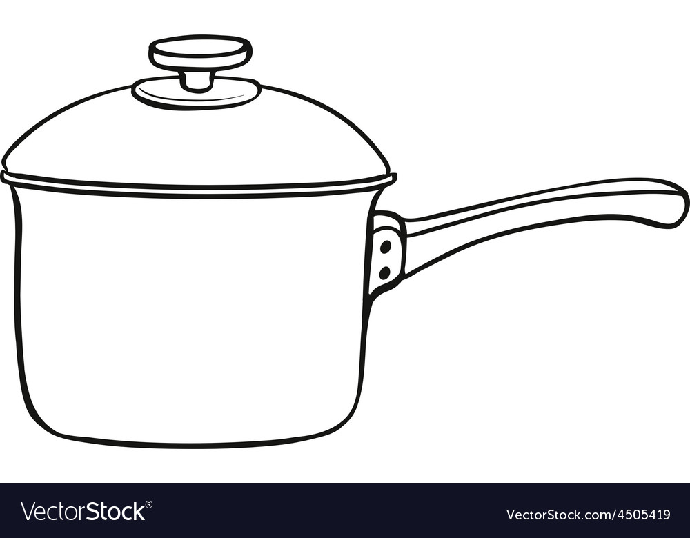 Cooking pot vector | Price: 1 Credit (USD $1)