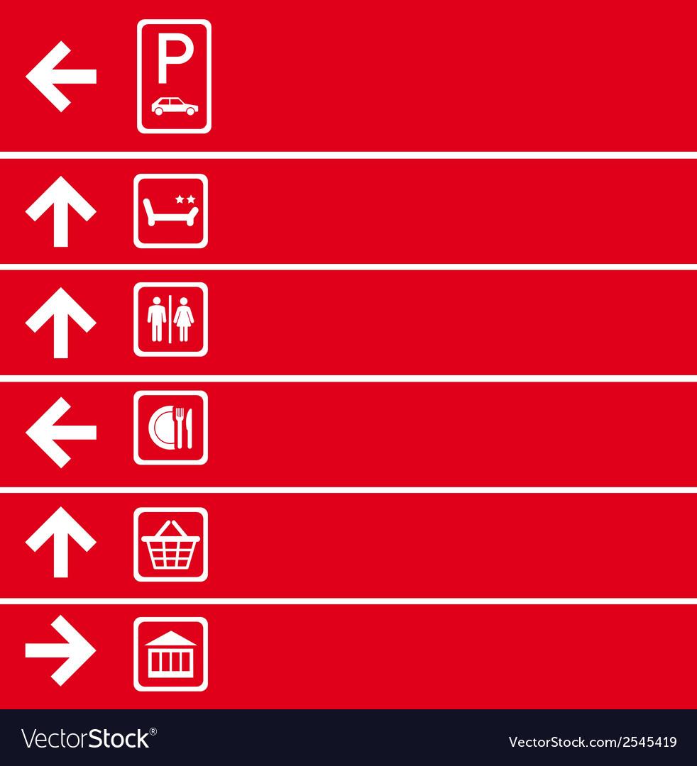 Navigation pointer vector | Price: 1 Credit (USD $1)