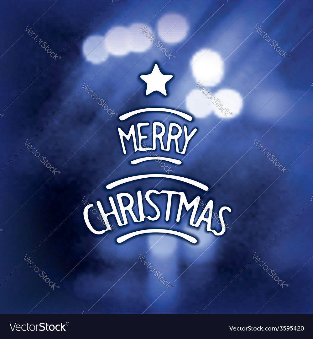 Blurred christmas background vector | Price: 1 Credit (USD $1)