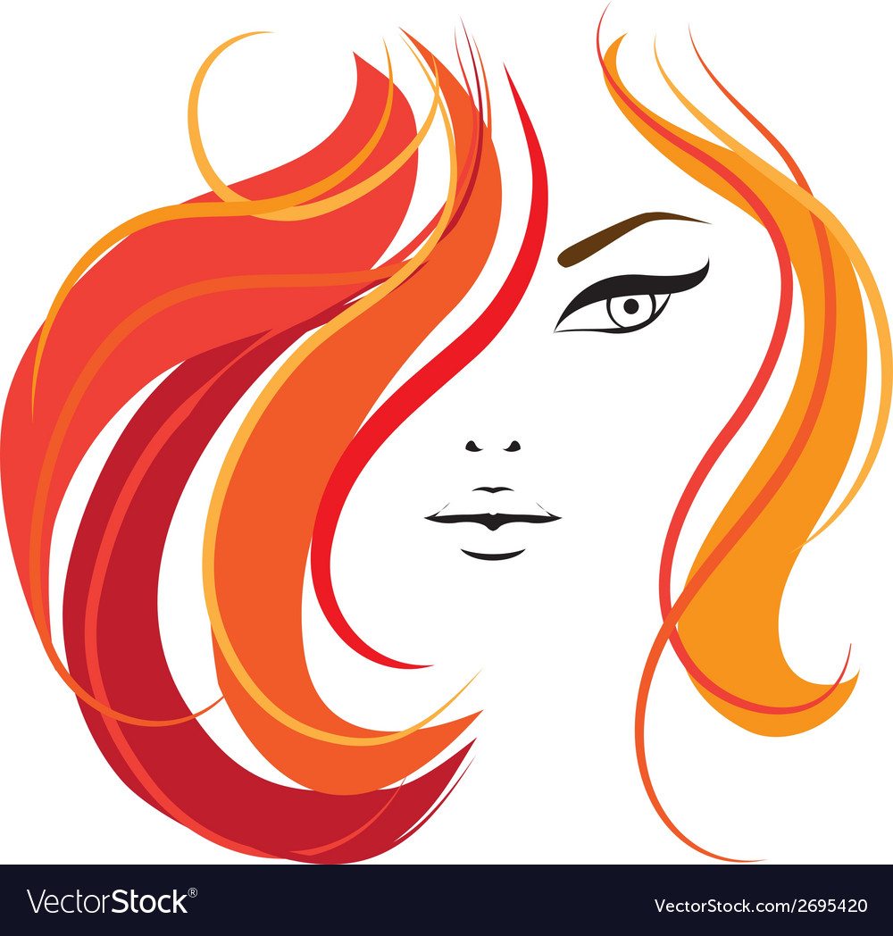Womans face template for your design vector   Price: 1 Credit (USD $1)
