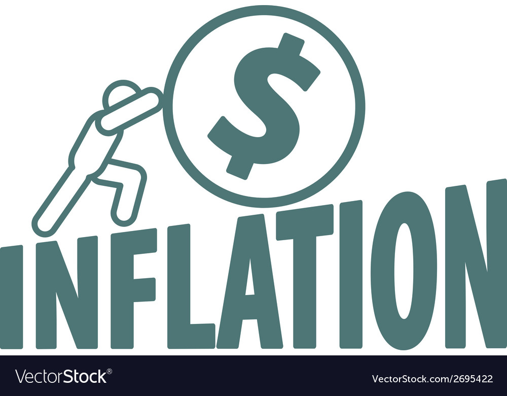 Economy and inflation vector | Price: 1 Credit (USD $1)