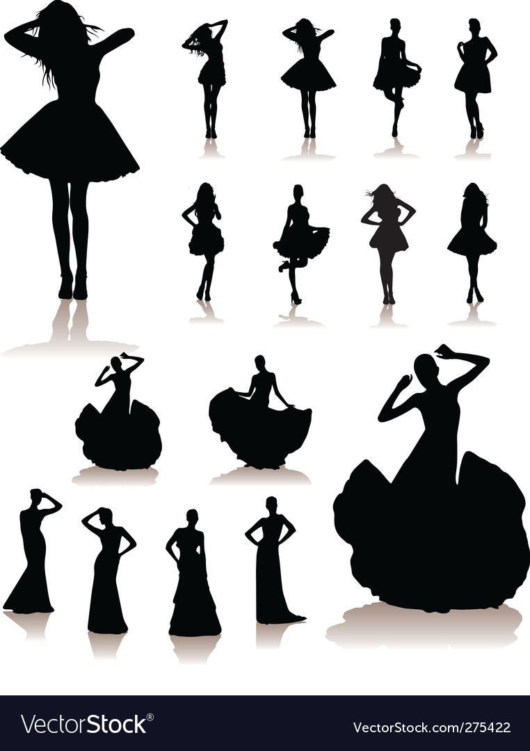 Fashion models vector | Price: 1 Credit (USD $1)