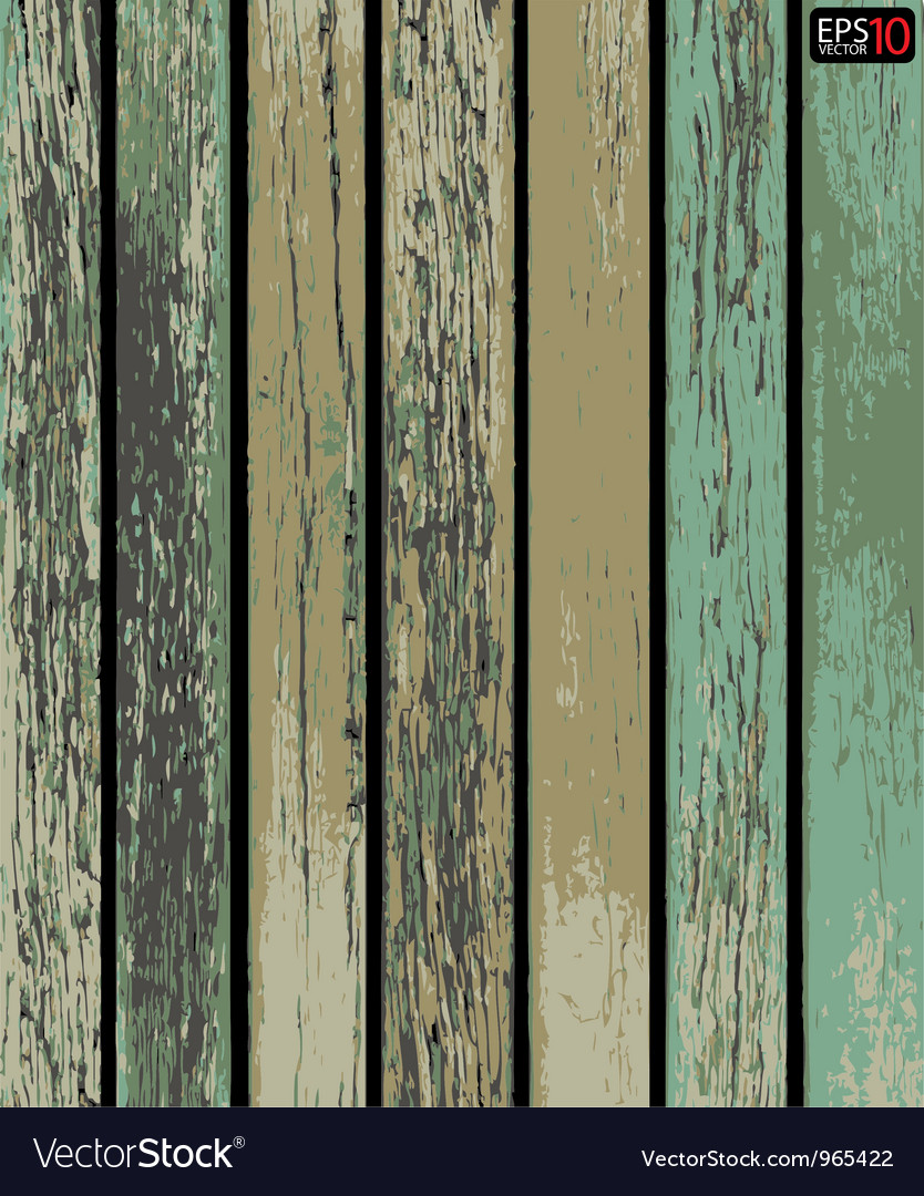 Old wooden texture background vector