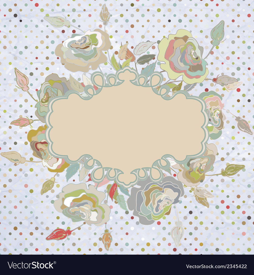 Stylish floral background eps 8 vector | Price: 1 Credit (USD $1)