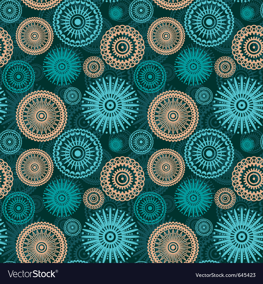 Abstract seamless ornament vector | Price: 1 Credit (USD $1)