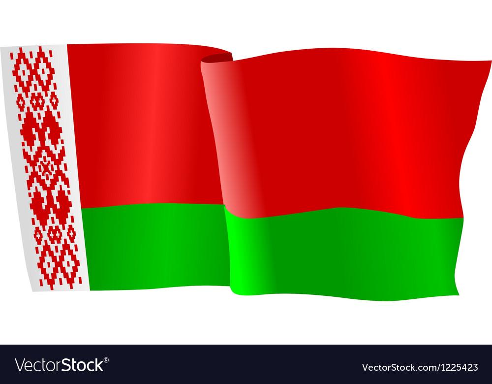 Flag of belarus vector | Price: 1 Credit (USD $1)