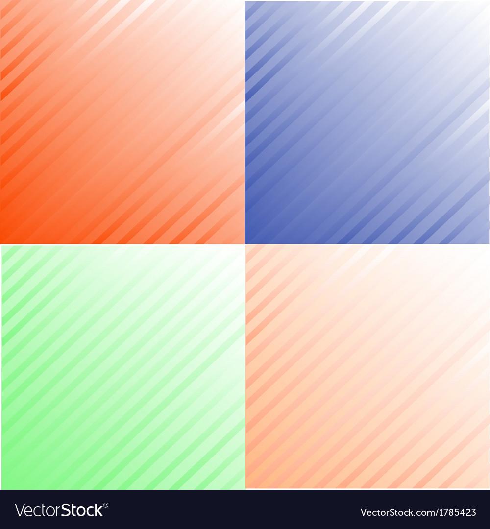 Grunge set stripe vector   Price: 1 Credit (USD $1)