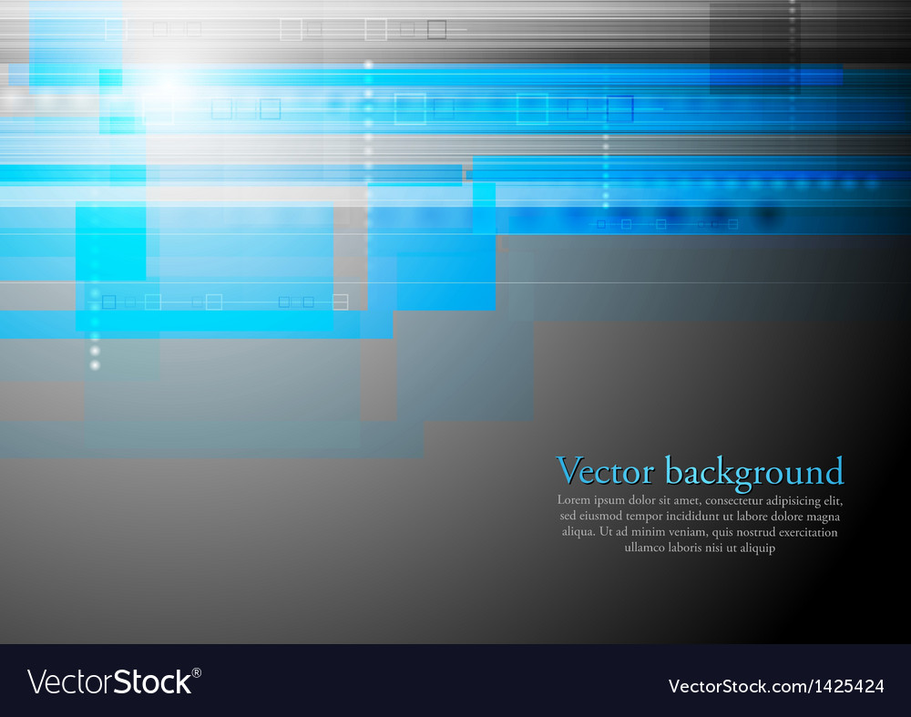 Colourful blue tech backdrop vector | Price: 1 Credit (USD $1)