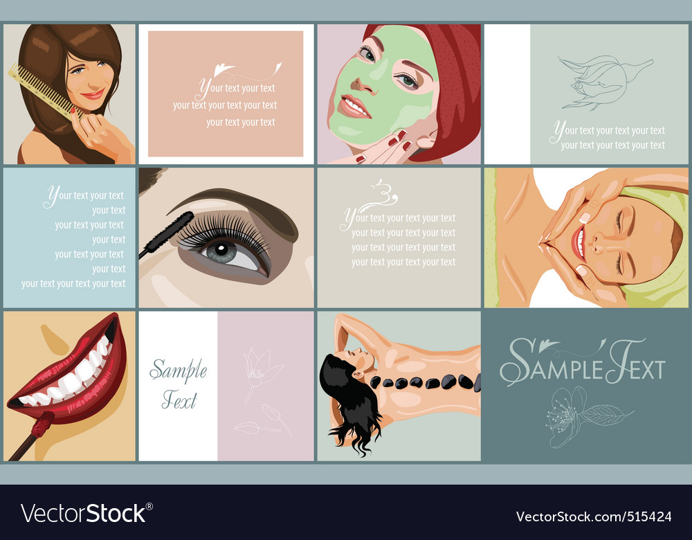 Spa and beauty vector | Price: 5 Credit (USD $5)