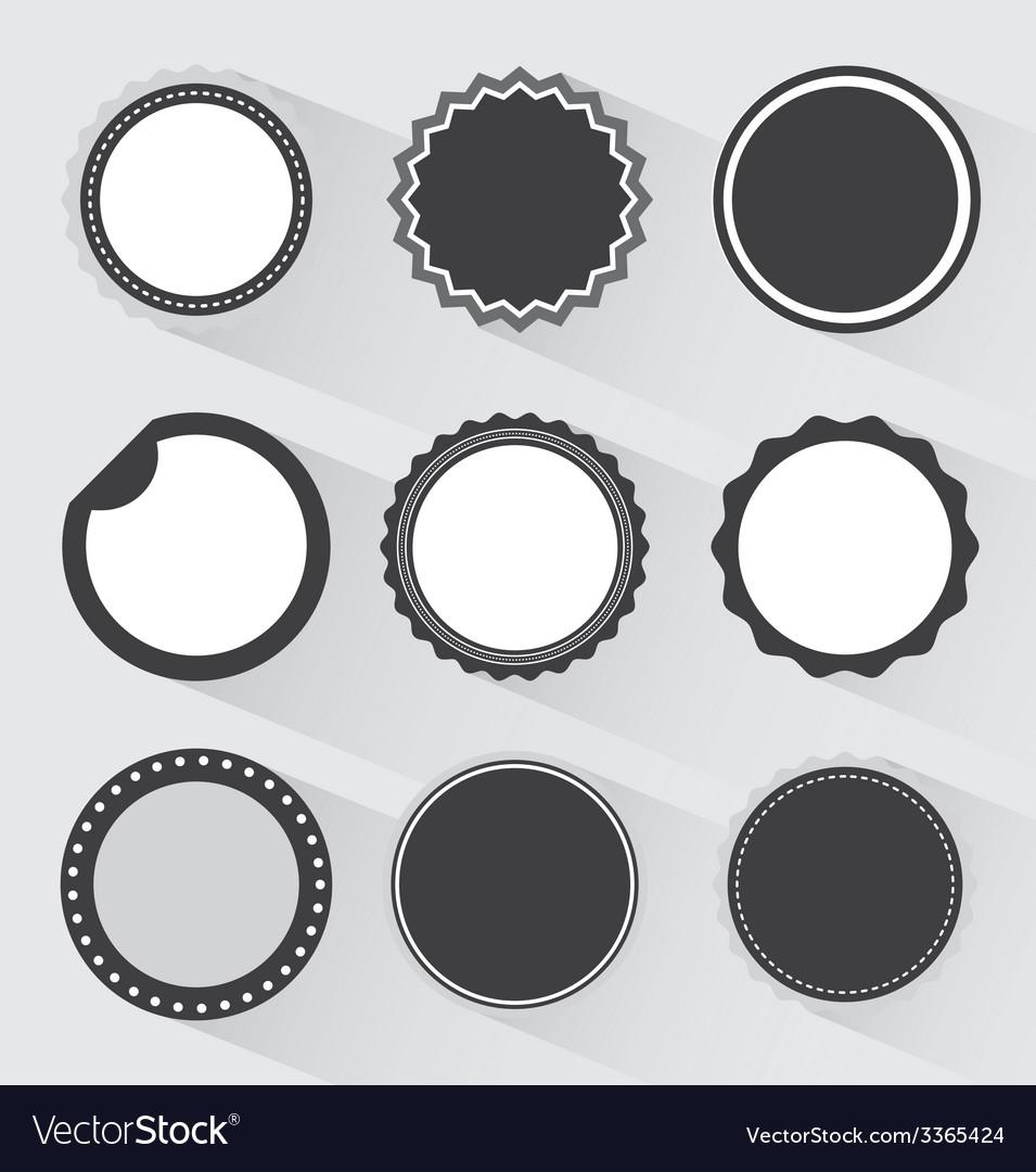Sun faces design vector | Price: 1 Credit (USD $1)