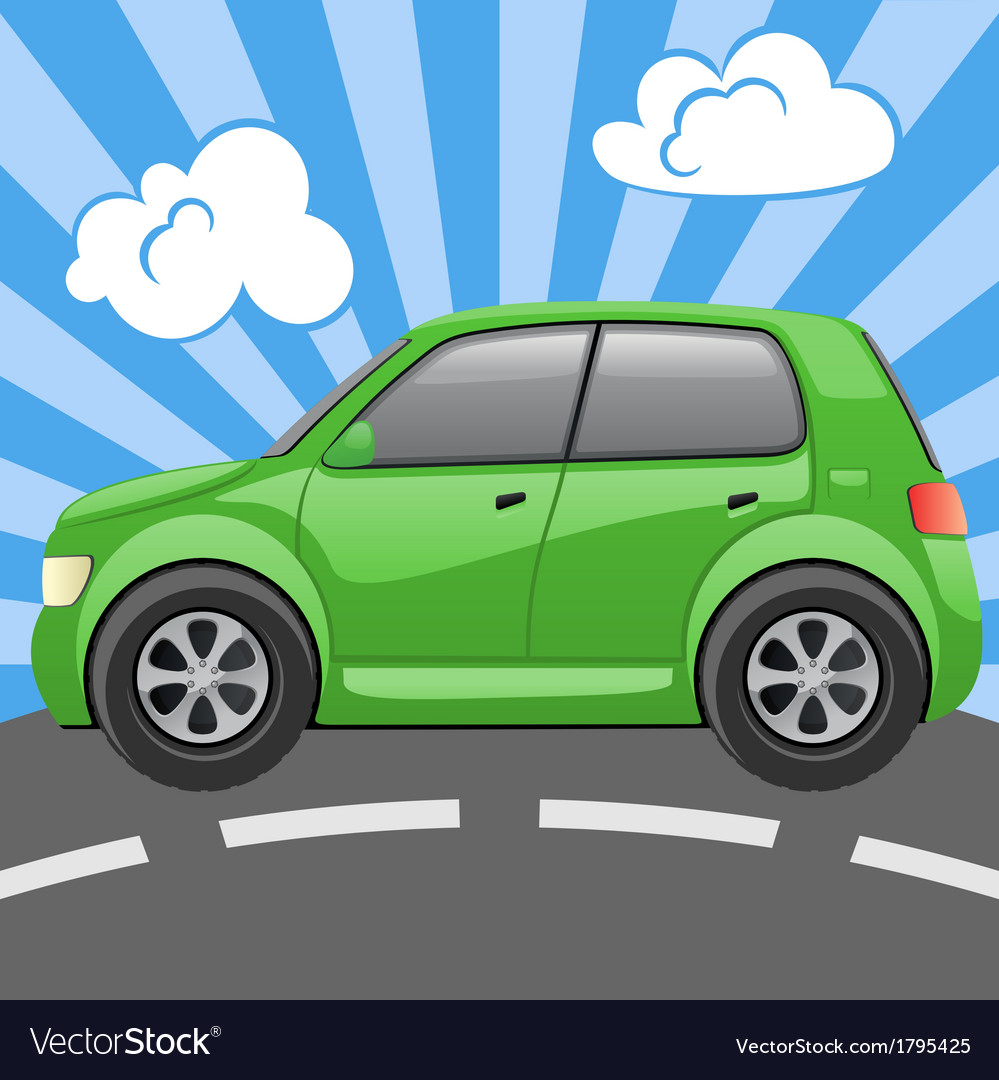Abctract car vector | Price: 1 Credit (USD $1)