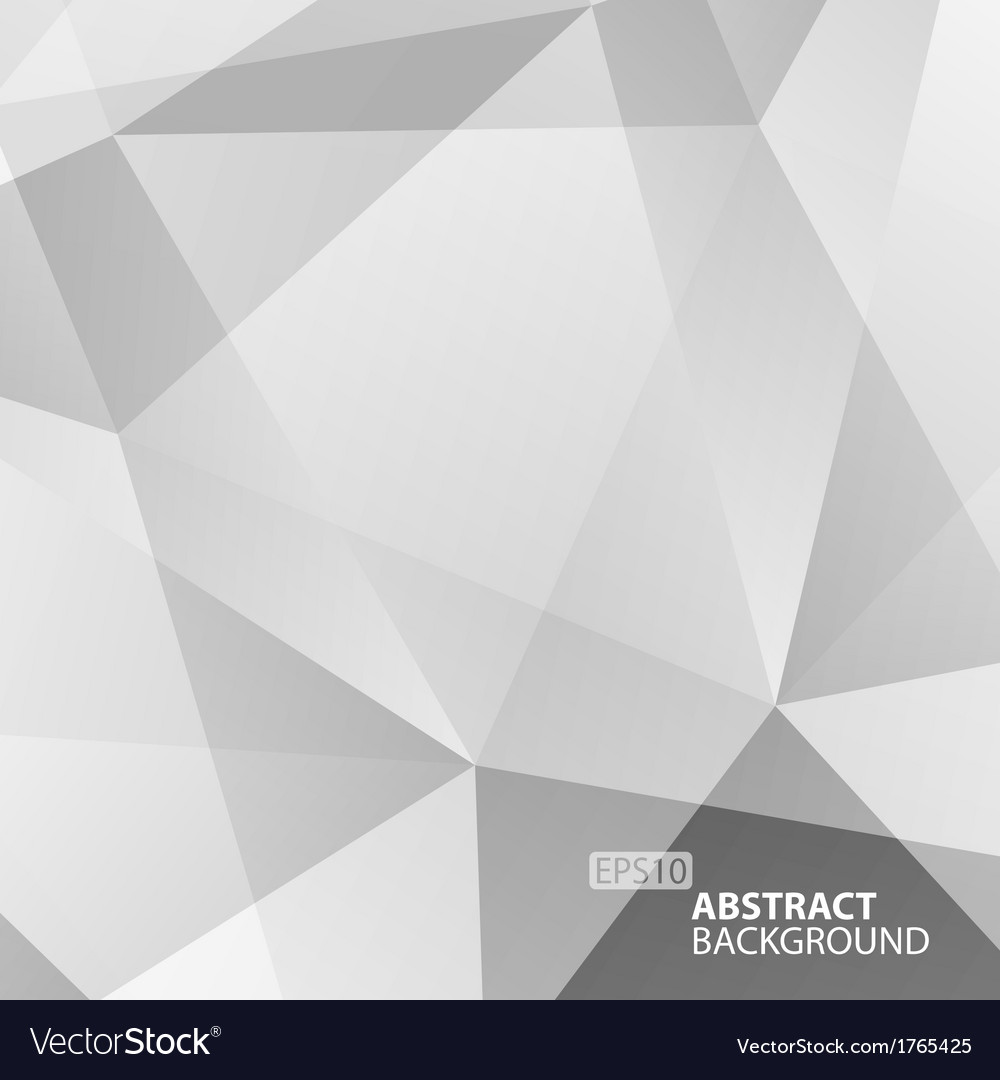Abstract grey geometric background vector   Price: 1 Credit (USD $1)