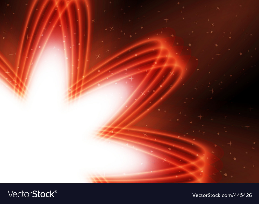 Abstract bright background with star vector | Price: 1 Credit (USD $1)
