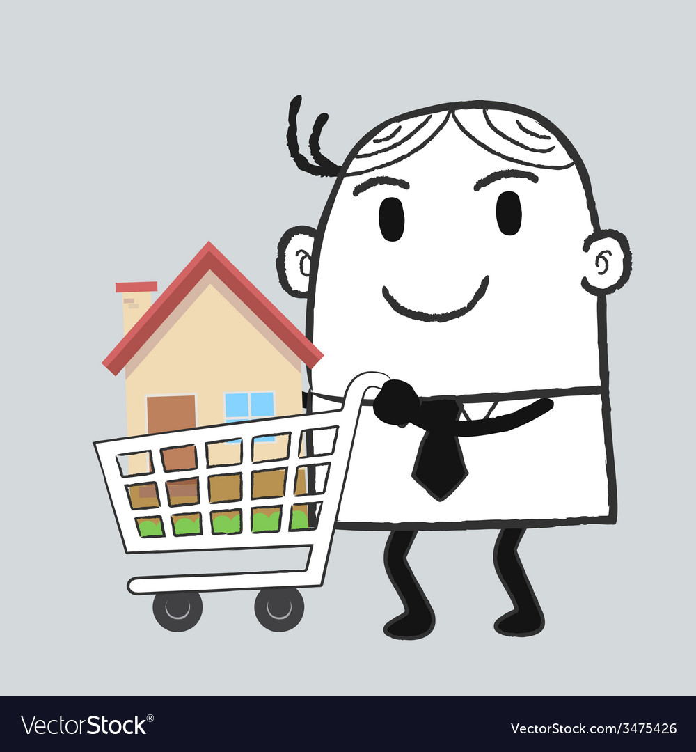 Busines man property vector | Price: 1 Credit (USD $1)