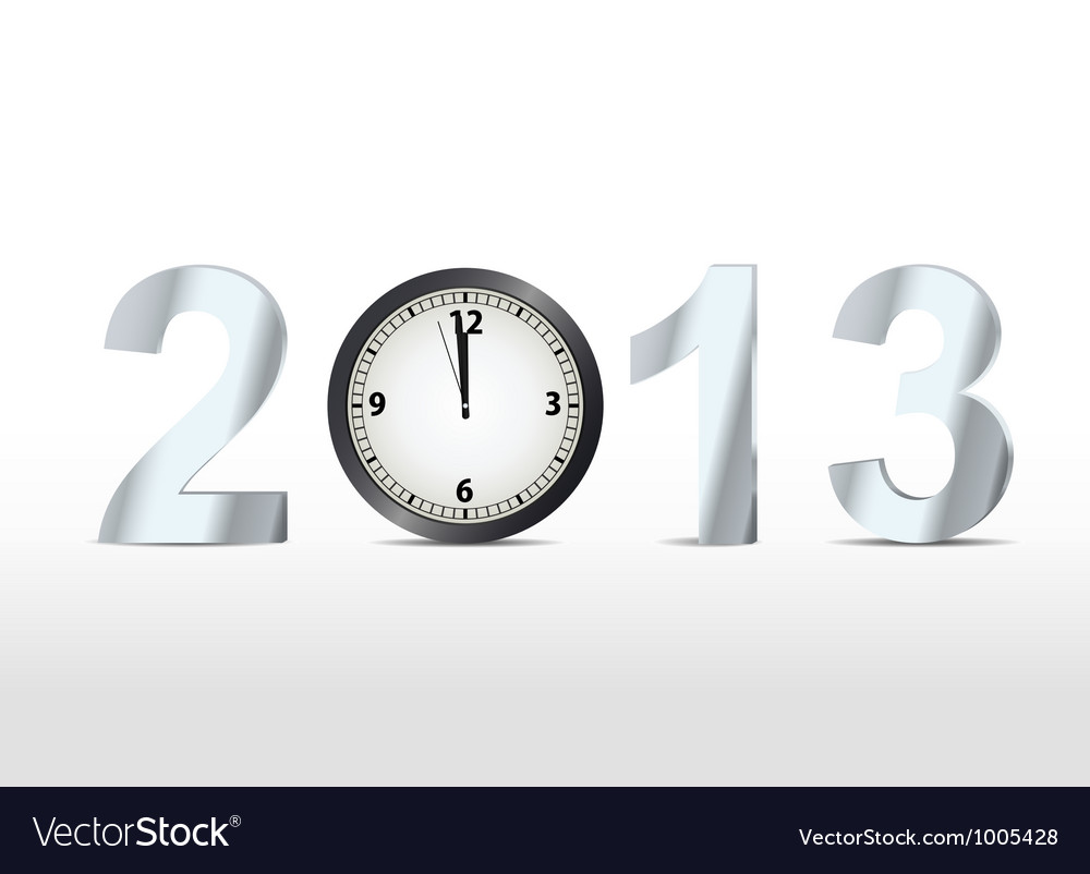 2013 countdown vector | Price: 1 Credit (USD $1)