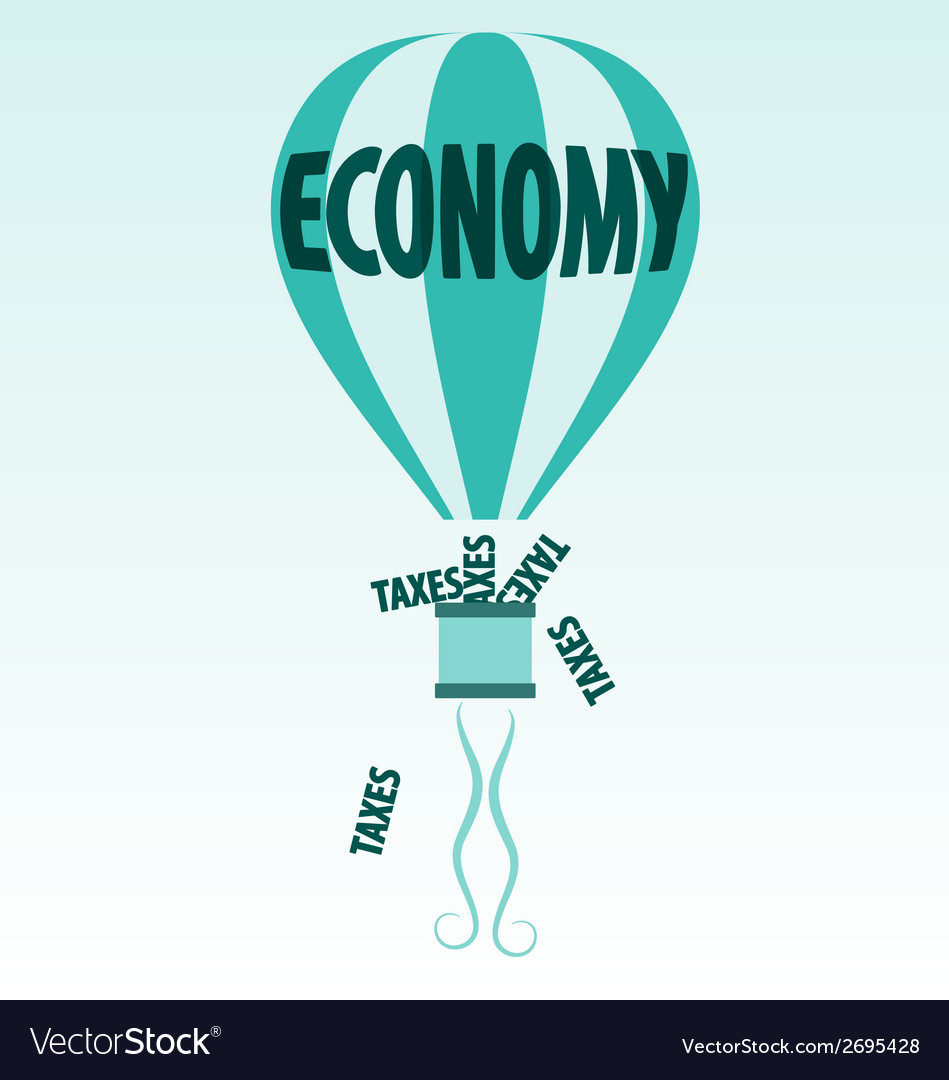 Economy and taxes vector | Price: 1 Credit (USD $1)