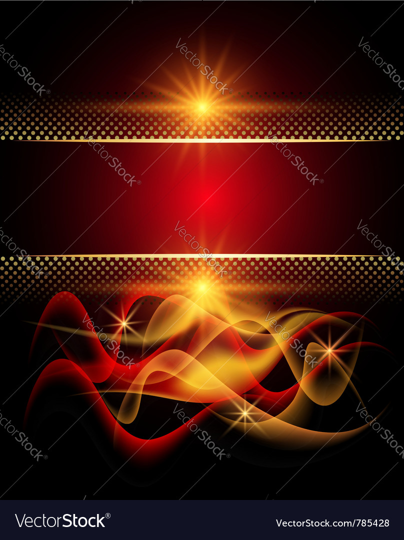 Glowing stars and smoke vector | Price: 1 Credit (USD $1)