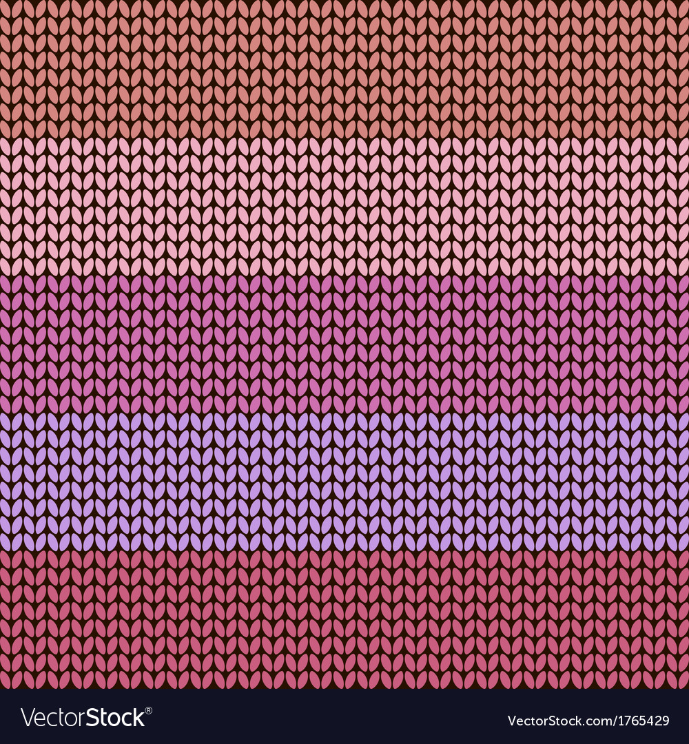 Colorful striped knitted background vector | Price: 1 Credit (USD $1)