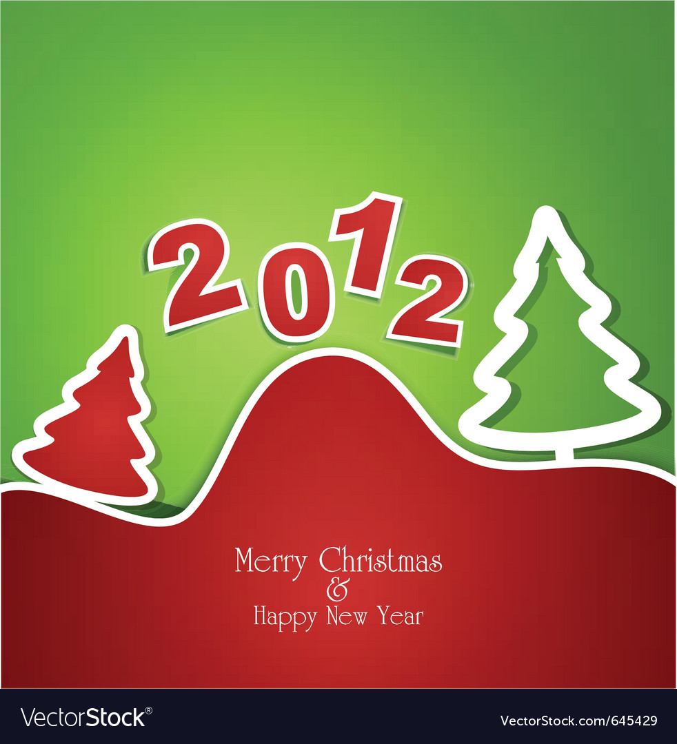 Holiday christmas background vector | Price: 1 Credit (USD $1)