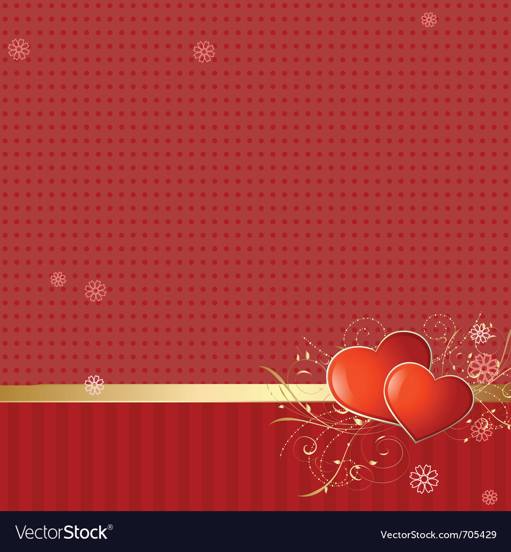 Love retro wallpaper vector | Price: 3 Credit (USD $3)