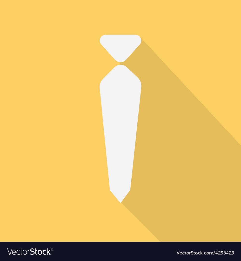 Necktie   flat design vector   Price: 1 Credit (USD $1)