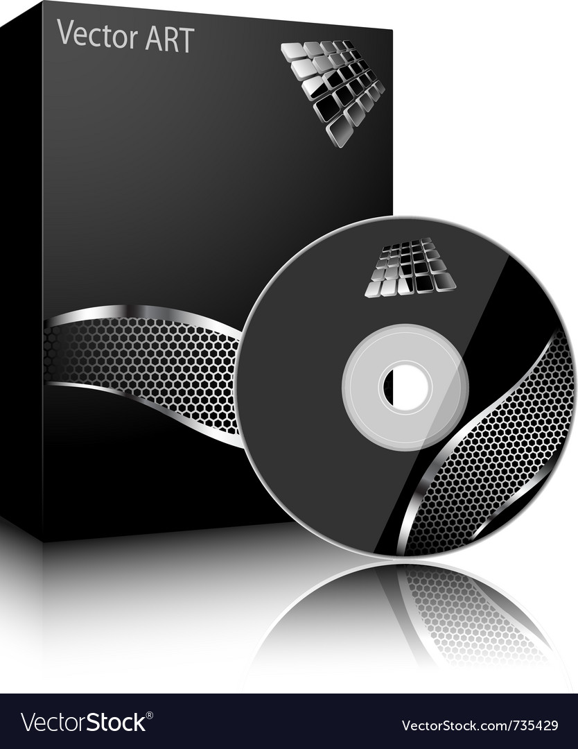Software black box vector | Price: 1 Credit (USD $1)