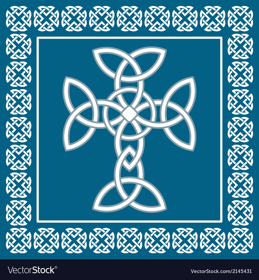 Celtic crosssymbolizes eternity vector | Price: 1 Credit (USD $1)