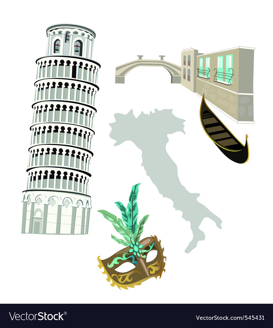 Italy graphics vector | Price: 1 Credit (USD $1)