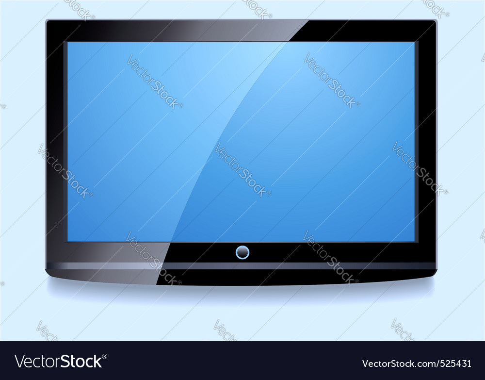 Lcd screen vector | Price: 1 Credit (USD $1)