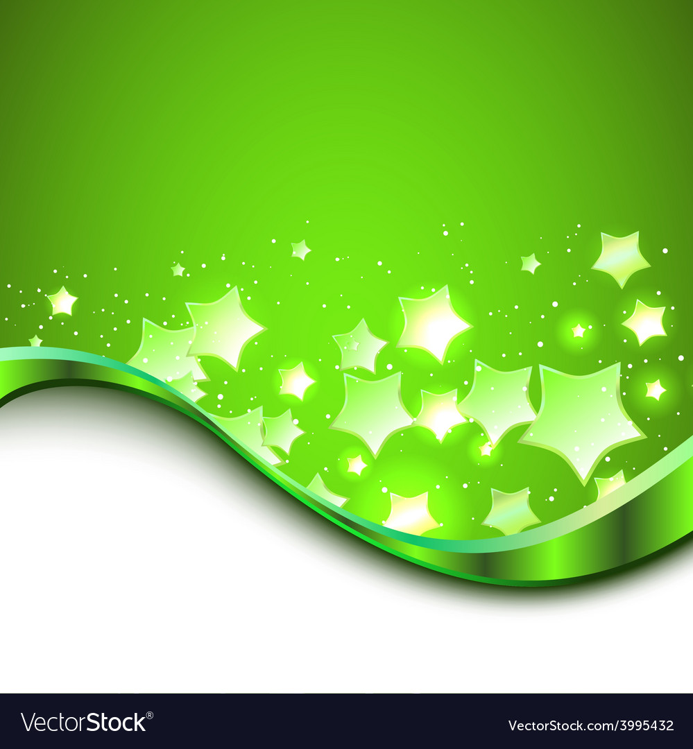 Beautiful green background vector | Price: 1 Credit (USD $1)