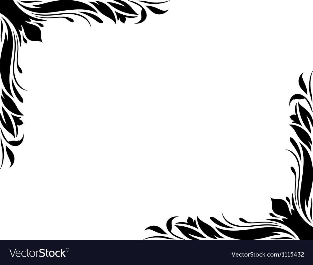 Decorative border style 2 large vector | Price: 1 Credit (USD $1)