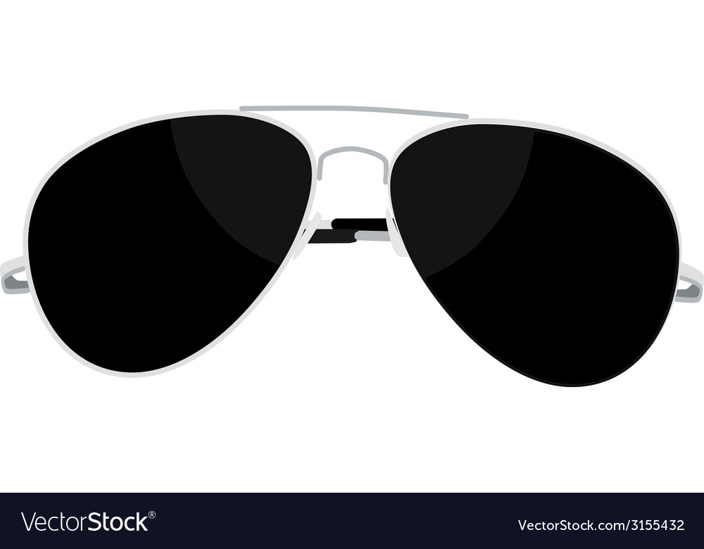Sunglasses steel vector | Price: 1 Credit (USD $1)
