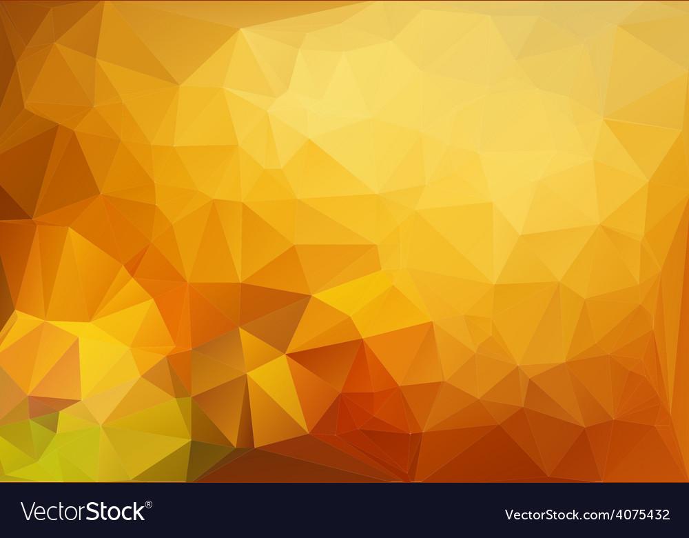 Vivid polygonal mosaic background vector | Price: 1 Credit (USD $1)