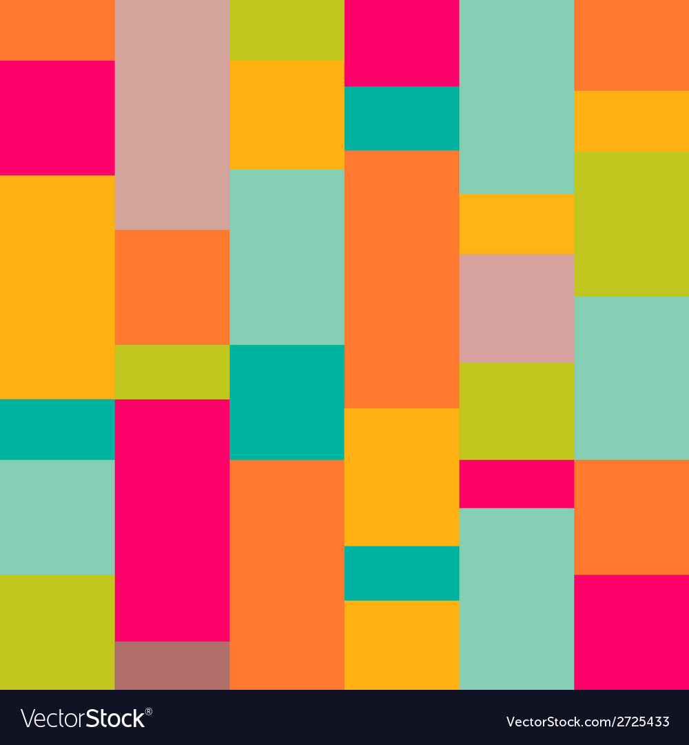 Art shape colors design  squares abstract vector   Price: 1 Credit (USD $1)