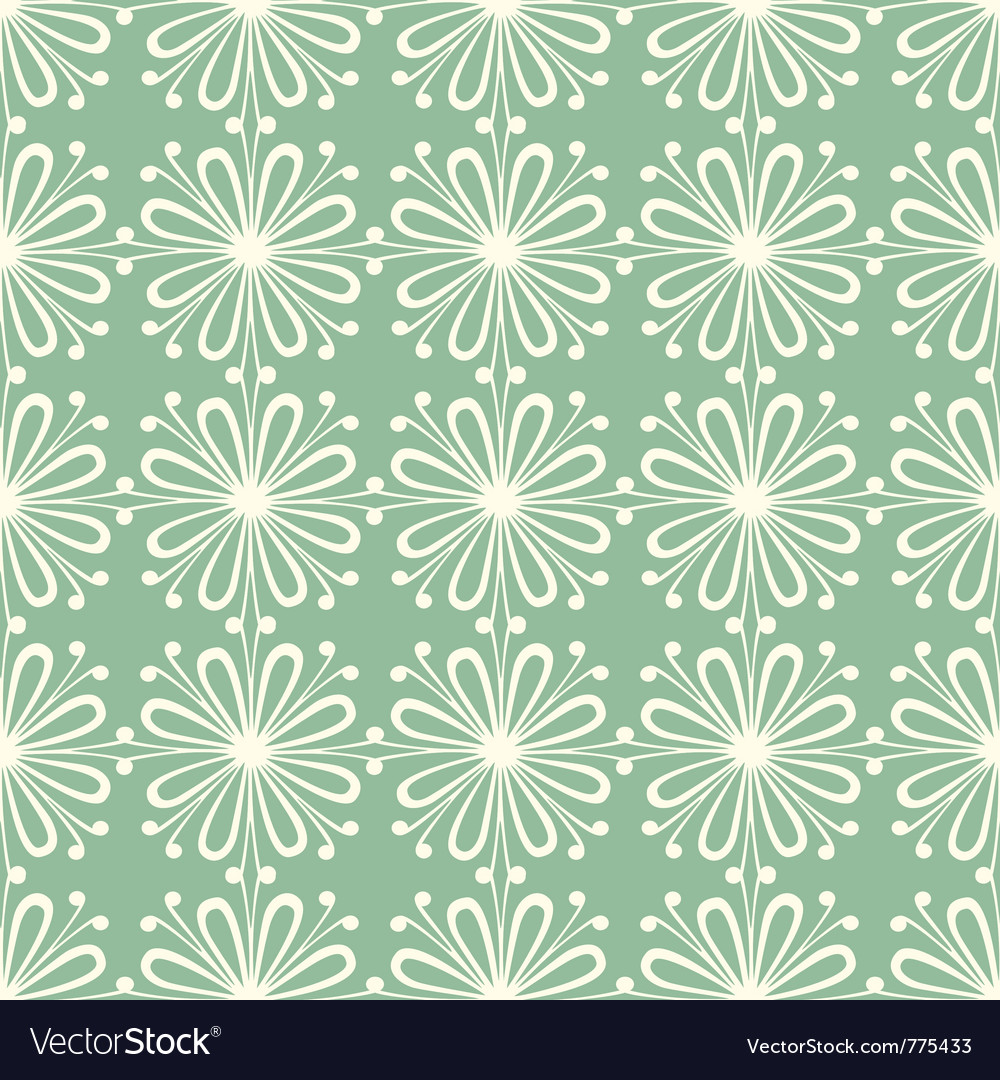 Seamless petal pattern vector | Price: 1 Credit (USD $1)