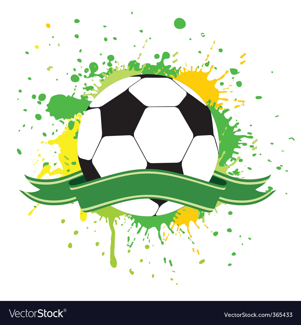 Soccer ball 2 vector | Price: 1 Credit (USD $1)