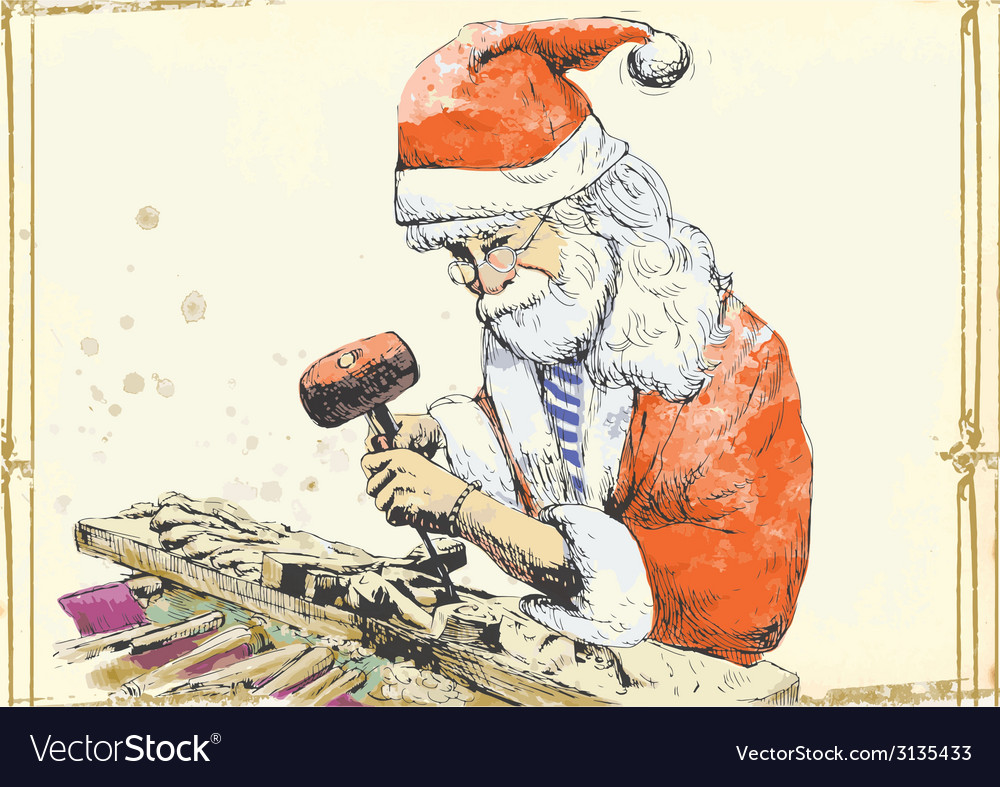 Topic christmas and santa claus vector   Price: 1 Credit (USD $1)