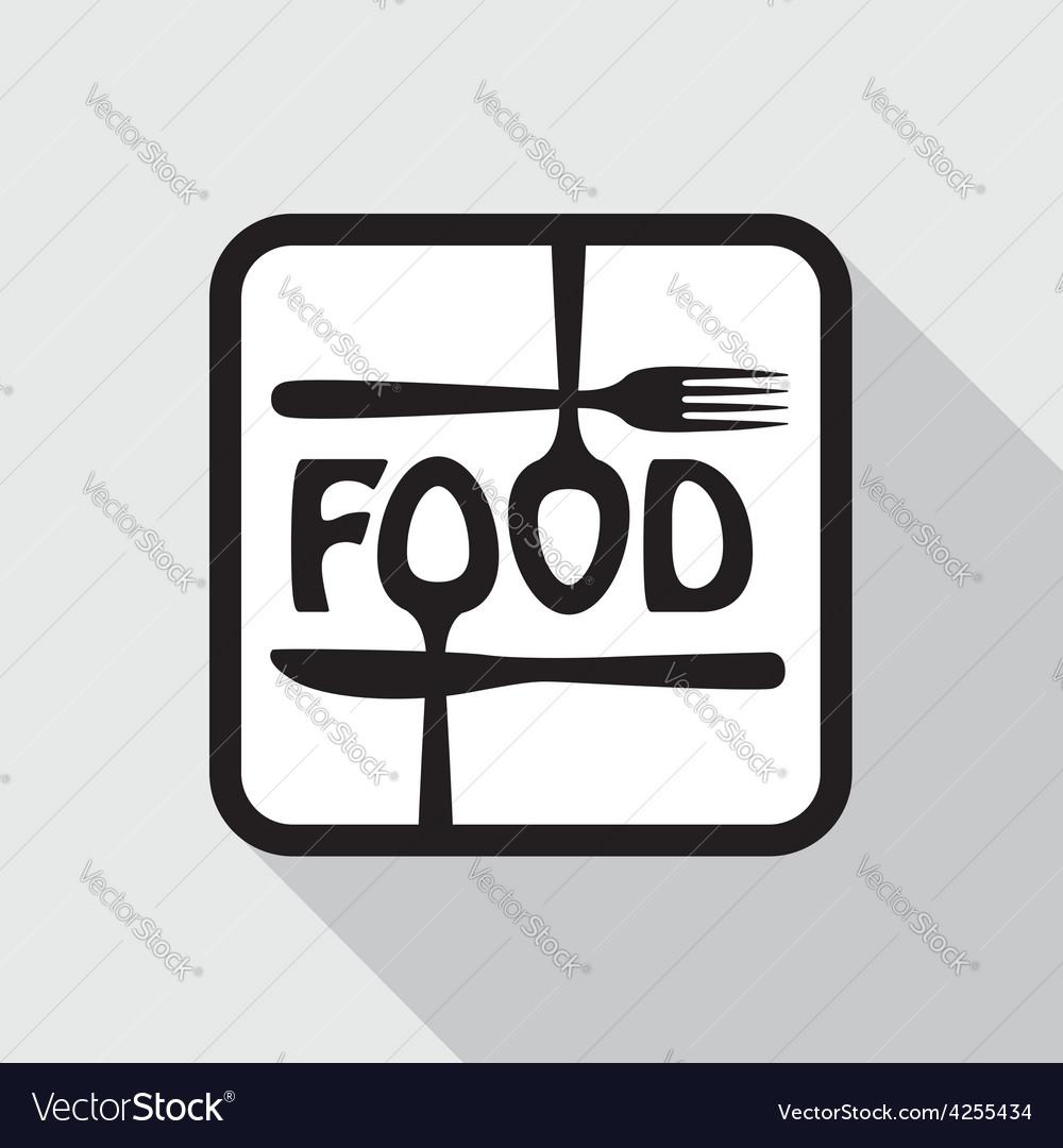 Food icon vector   Price: 1 Credit (USD $1)