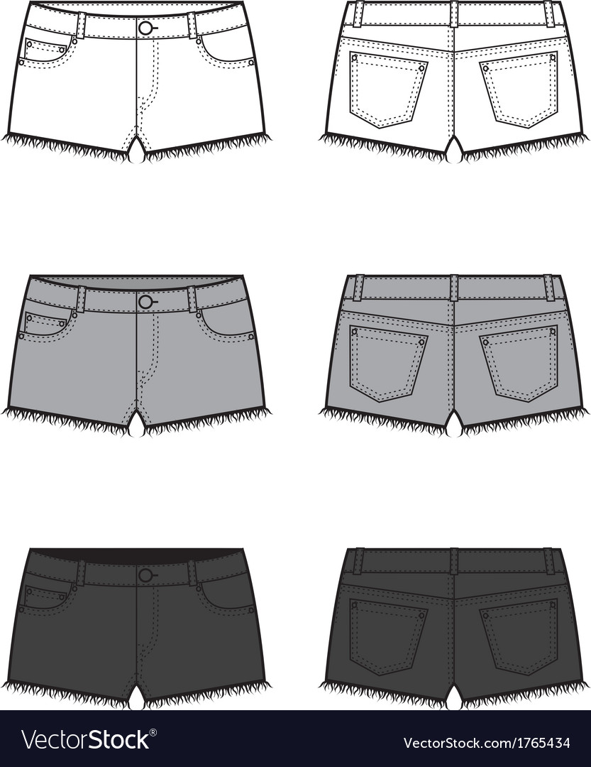 Shorts vector | Price: 1 Credit (USD $1)